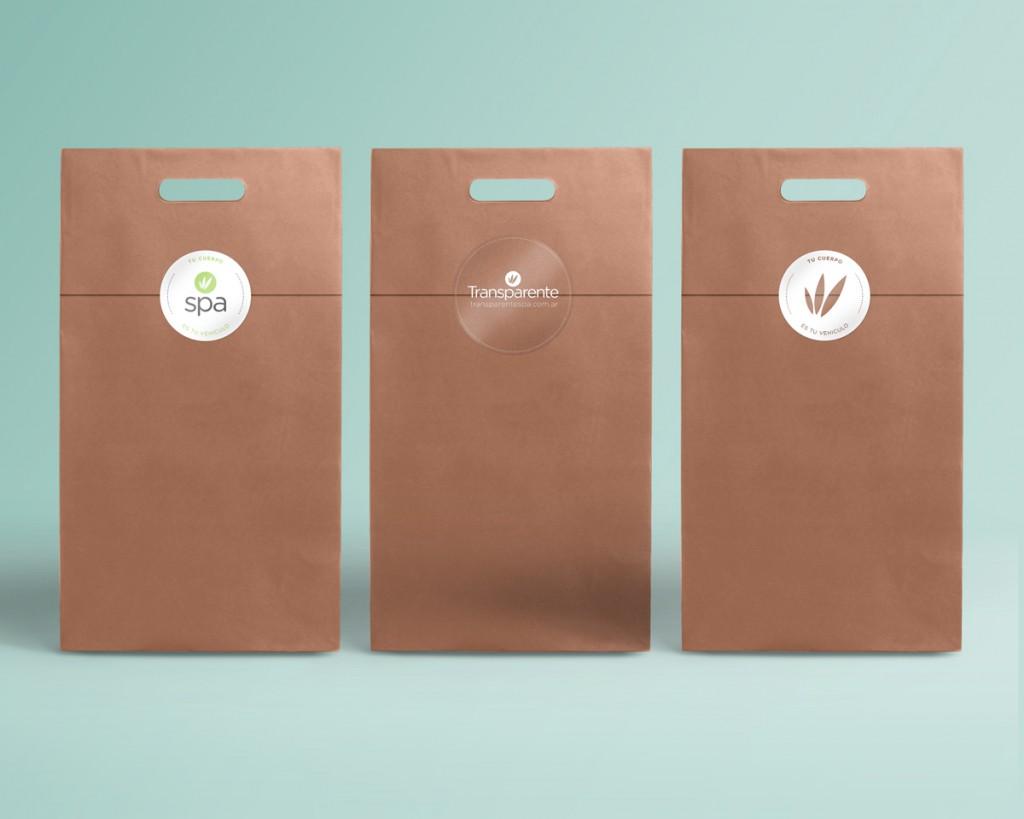 Transparente - Etiquetas